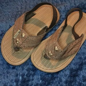 Shoes - Size- 8(boys) flip flops with strap